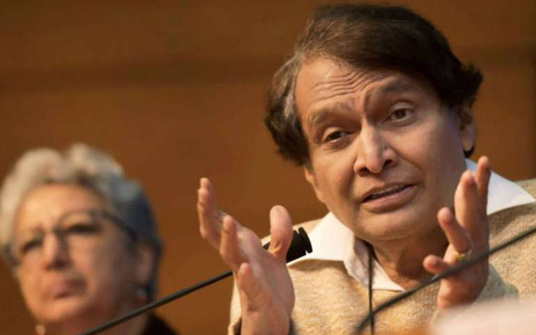 Suresh Prabhu meets Swiss counterpart, global CEOs to narrate India story