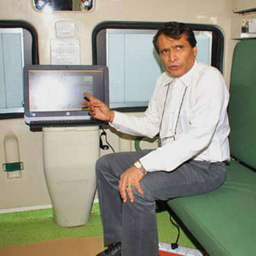 Major Initiatives as Minister for Railways